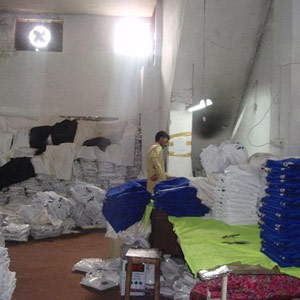 Packing Hall
