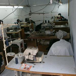 stitching process